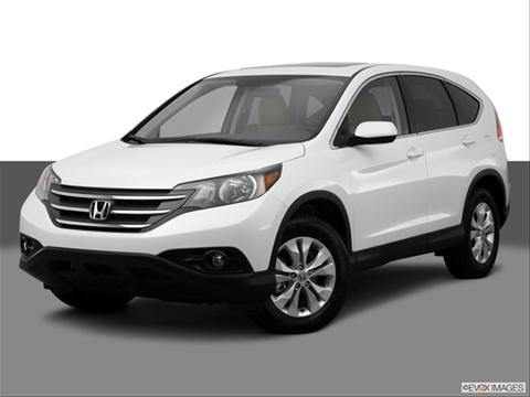 2014 Honda CR-V 4-door EX  Sport Utility Front angle medium view photo