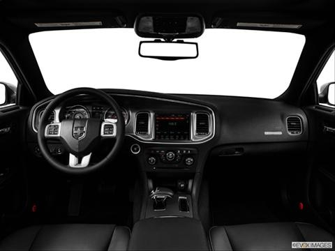 2014 Dodge Charger 4-door SXT 100th Anniversary Edition  Sedan Dashboard, center console, gear shifter view photo