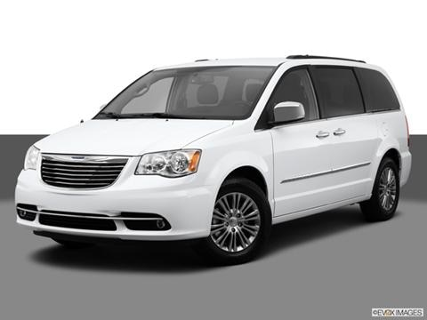 2014 Chrysler Town & Country 4-door Touring  Van Front angle medium view photo