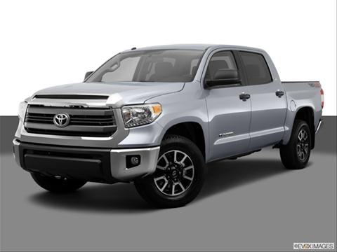2014 Toyota Tundra CrewMax 4-door Limited  Pickup Front angle medium view photo