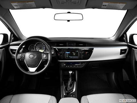 2014 Toyota Corolla 4-door LE Eco Premium  Sedan Dashboard, center console, gear shifter view photo