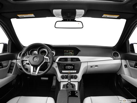 2014 Mercedes-Benz C-Class 4-door C250 Luxury  Sedan Dashboard, center console, gear shifter view photo