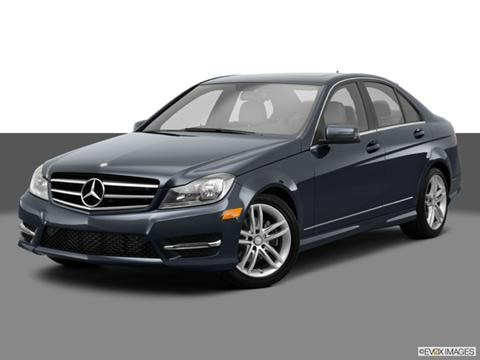 2014 Mercedes-Benz C-Class 4-door C250 Sport  Sedan Front angle medium view photo