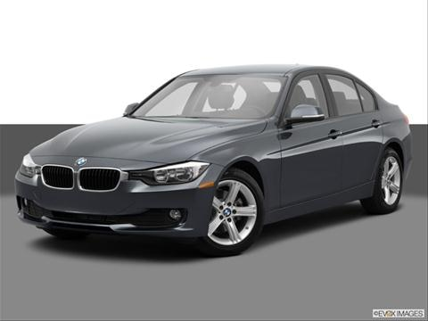 2014 BMW 3 Series 4-door 320i  Sedan Front angle medium view photo
