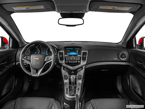 2014 Chevrolet Cruze 4-door Diesel  Sedan Dashboard, center console, gear shifter view photo