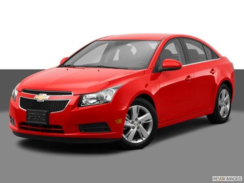 2014 Chevrolet Cruze 4-door Diesel  Sedan Front angle medium view photo