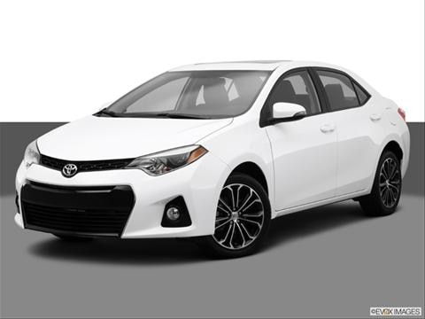 2014 Toyota Corolla 4-door S Premium  Sedan Front angle medium view photo