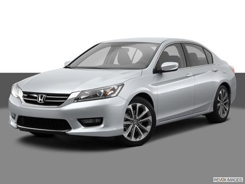 2014 Honda Accord 4-door Touring  Sedan Front angle medium view photo