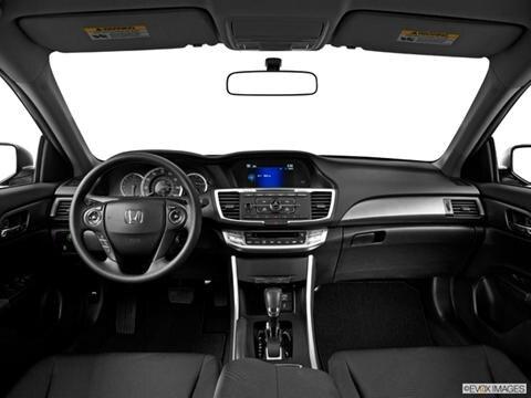 2014 Honda Accord 4-door LX  Sedan Dashboard, center console, gear shifter view photo