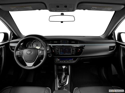 2014 Toyota Corolla 4-door LE Premium  Sedan Dashboard, center console, gear shifter view photo