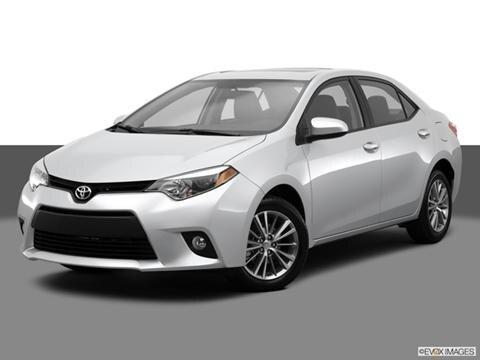 2014 Toyota Corolla 4-door LE Premium  Sedan Front angle medium view photo