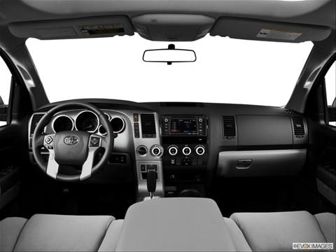 2014 Toyota Sequoia 4-door SR5  Sport Utility Dashboard, center console, gear shifter view photo