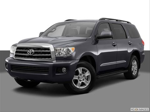 2014 Toyota Sequoia 4-door SR5  Sport Utility Front angle medium view photo