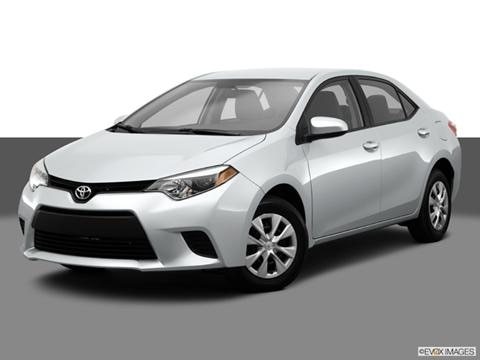 2014 Toyota Corolla 4-door LE  Sedan Front angle medium view photo