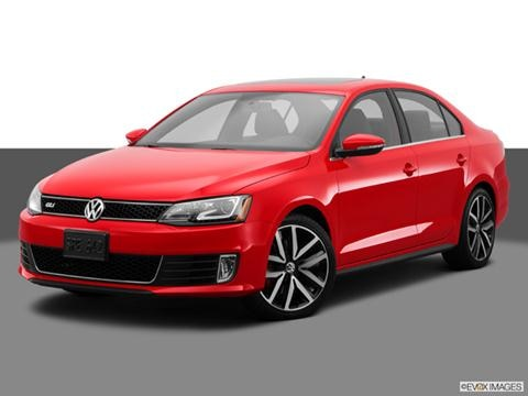 2014 Volkswagen Jetta 4-door 2.0T GLI Autobahn  Sedan Front angle medium view photo