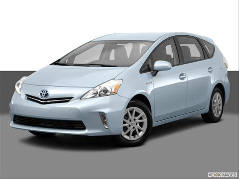 2014 Toyota Prius v 4-door Two  Wagon Front angle medium view photo