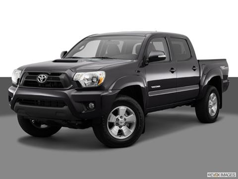2014 Toyota Tacoma Double Cab 4-door PreRunner  Pickup Front angle medium view photo