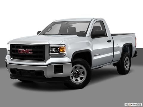 2014 GMC Sierra 1500 Regular Cab 2-door SLE  Pickup Front angle medium view photo