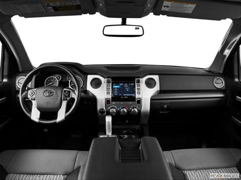 2014 Toyota Tundra Double Cab 4-door SR5  Pickup Dashboard, center console, gear shifter view photo
