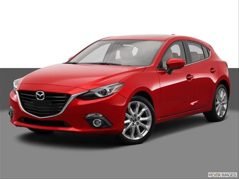 2014 Mazda MAZDA3 4-door s Grand Touring  Hatchback Front angle medium view photo