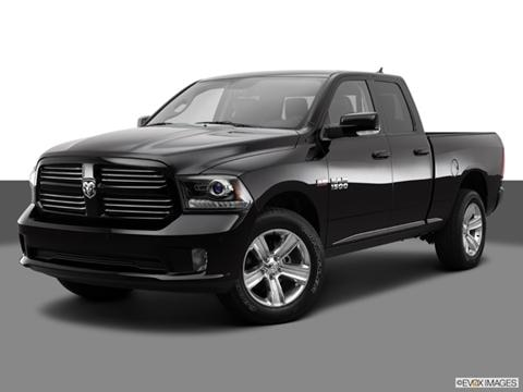 2014 Ram 1500 Quad Cab 4-door Big Horn  Pickup Front angle medium view photo