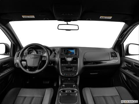 2014 Chrysler Town & Country 4-door S  Van Dashboard, center console, gear shifter view photo
