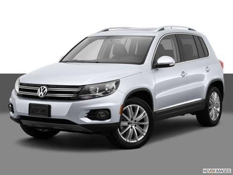 2014 Volkswagen Tiguan 4-door 2.0T S  Sport Utility Front angle medium view photo