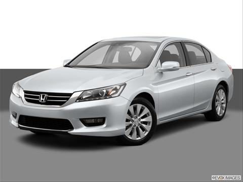 2014 Honda Accord 4-door EX-L  Sedan Front angle medium view photo