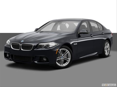 2014 BMW 5 Series 4-door 535d  Sedan Front angle medium view photo