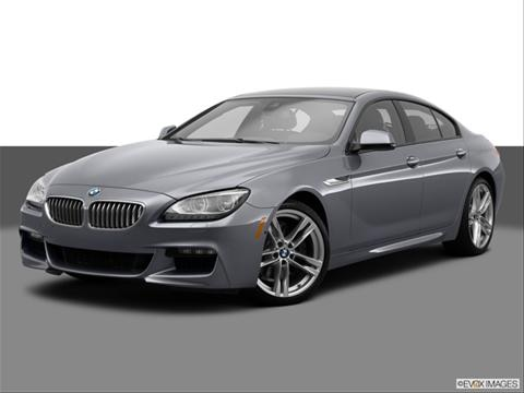 2014 BMW 6 Series 4-door 640i Gran Coupe xDrive  Coupe Front angle medium view photo