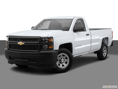 2014 Chevrolet Silverado 1500 Regular Cab 2-door Work Truck  Pickup Front angle medium view photo