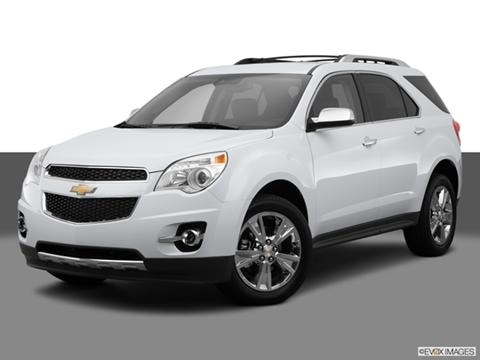 2014 Chevrolet Equinox 4-door LTZ  Sport Utility Front angle medium view photo