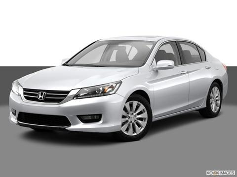 2014 Honda Accord 4-door EX  Sedan Front angle medium view photo