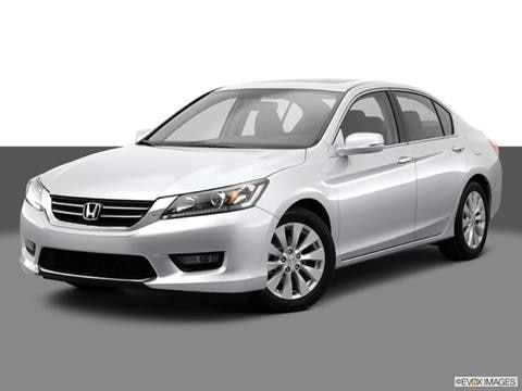 2014 Honda Accord 4-door EX  Sedan Front angle medium view photo