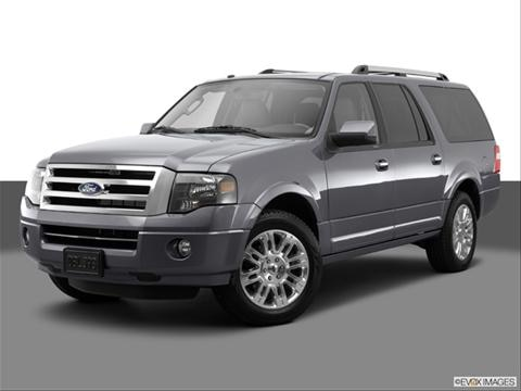 2014 Ford Expedition EL 4-door XLT  Sport Utility Front angle medium view photo