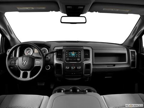 2014 Ram 1500 Quad Cab 4-door Express  Pickup Dashboard, center console, gear shifter view photo