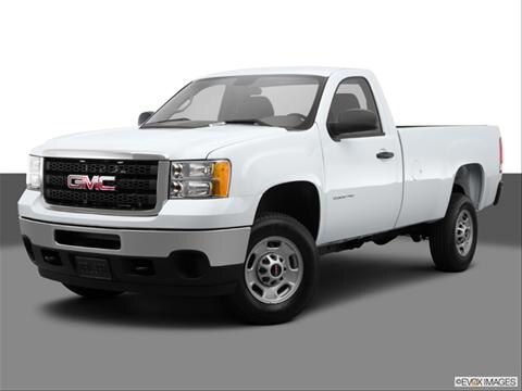 2014 GMC Sierra 2500 HD Regular Cab 2-door SLE  Pickup Front angle medium view photo