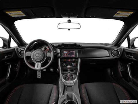 2014 Scion FR-S 2-door   Coupe Dashboard, center console, gear shifter view photo