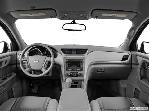2014 Chevrolet Traverse 4-door LS  Sport Utility Dashboard, center console, gear shifter view photo
