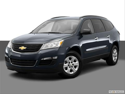 2014 Chevrolet Traverse 4-door LS  Sport Utility Front angle medium view photo