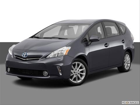2014 Toyota Prius v 4-door Five  Wagon Front angle medium view photo