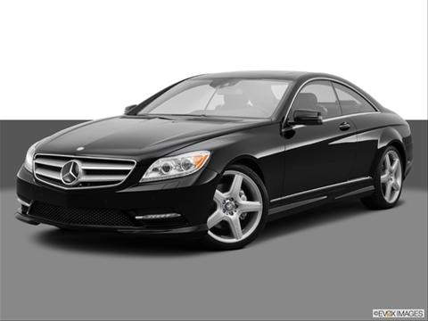 2014 Mercedes-Benz CL-Class 2-door CL550 4MATIC  Coupe Front angle medium view photo