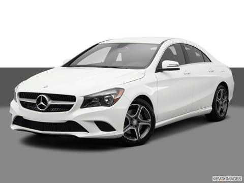 2014 Mercedes-Benz CLA-Class 4-door CLA250  Coupe Front angle medium view photo