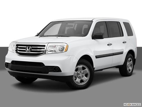 2014 Honda Pilot 4-door LX  Sport Utility Front angle medium view photo