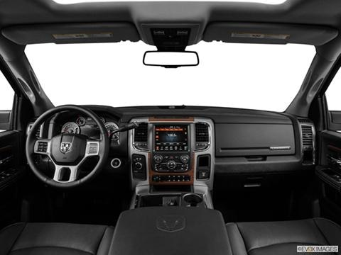 2014 Ram 3500 Crew Cab 4-door Big Horn  Pickup Dashboard, center console, gear shifter view photo