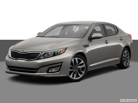 2014 Kia Optima 4-door SX  Sedan Front angle medium view photo