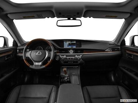 2014 Lexus ES 4-door ES 350  Sedan Dashboard, center console, gear shifter view photo