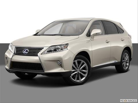 2014 Lexus RX 4-door RX 450h  Sport Utility Front angle medium view photo