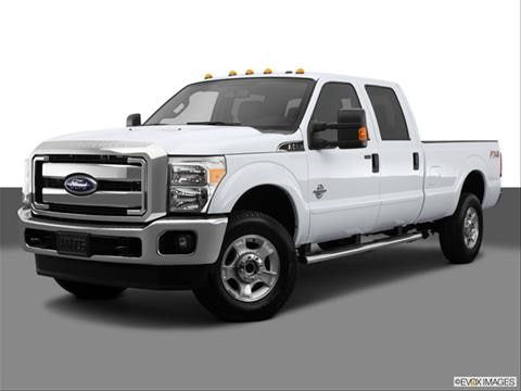 2014 Ford F350 Super Duty Crew Cab 4-door XL  Pickup Front angle medium view photo