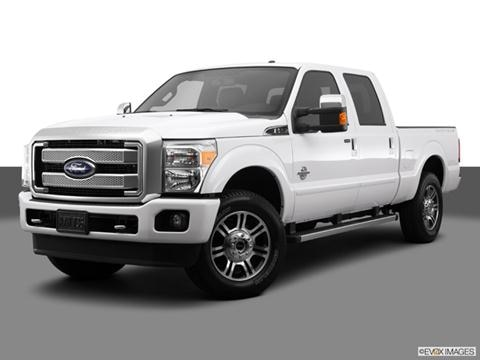 2014 Ford F250 Super Duty Crew Cab 4-door XL  Pickup Front angle medium view photo